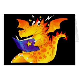 Kid's Custom Funny Baby Dragon Card