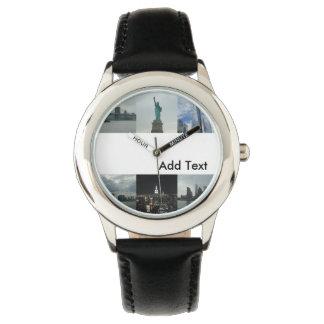 Kids Custom New York Watch