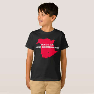 Kids Customizable Made in New Brunswick T-shirt