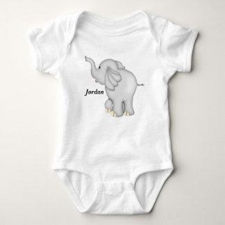 Kid's Cute Baby Elephant Baby Bodysuit