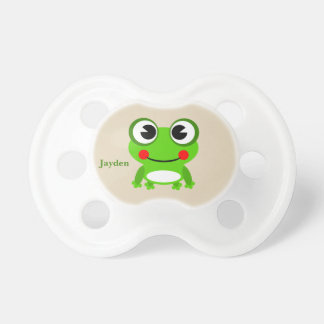 Kid's Cute Baby Frog Pacifier