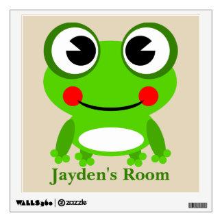 Kid's Cute Baby Frog Wall Sticker
