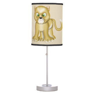 Kid's Cute Baby Lioness Table Lamp