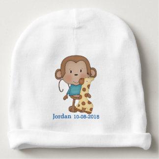 Kid's Cute Baby Monkey Boy Baby Beanie