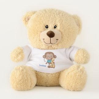 Kid's Cute Baby Monkey Boy Teddy Bear