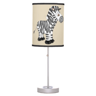 Kid's Cute Baby Zebra Table Lamp