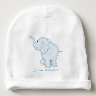 Kid's Cute Blue Baby Elephant Baby Beanie