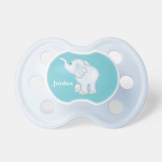 Kid's Cute Blue Baby Elephant Pacifier