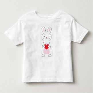 Kids Cute Bunny Valentine Shirt