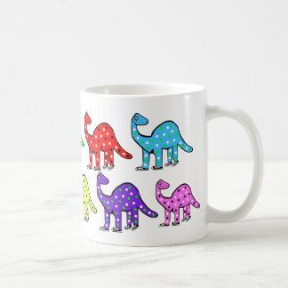 Kids Cute Dinosaur Cartoon Cup Gift Basic White Mug
