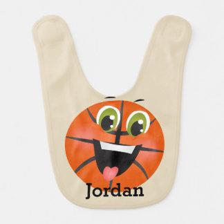 Kid's Cute Funny Basketball Bib