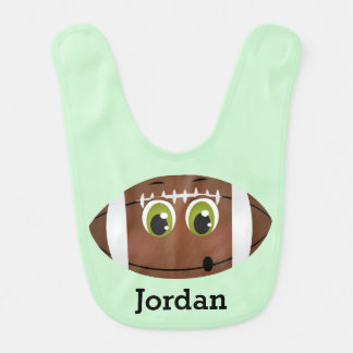 Kid's Cute Funny Football Bib