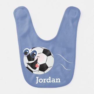 Kid's Cute Funny Soccer Ball Bib
