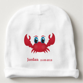 Kid's Cute Happy Crab Baby Beanie