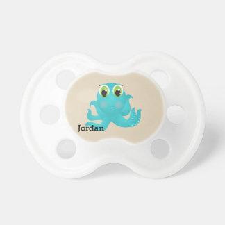 Kid's Cute Happy Octopus Pacifier