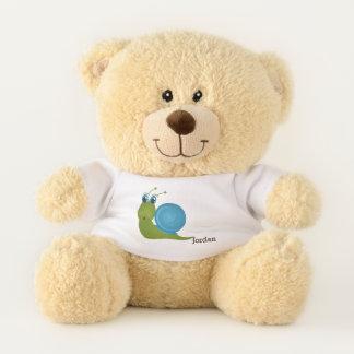 Kid's Cute Happy Snail Teddy Bear