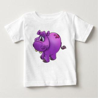 Kids cute hippo cartoon shirt
