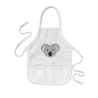 Kids Cute Koala Bear Apron