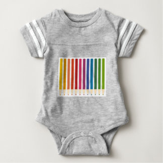 Kids cute pastels design baby bodysuit