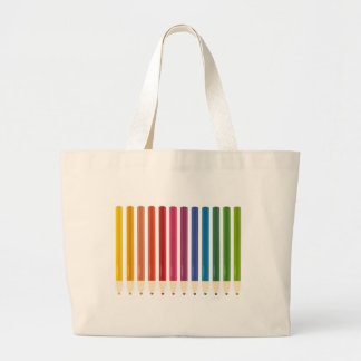 Kids cute pastels design large tote bag