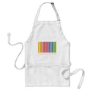 Kids cute pastels design standard apron
