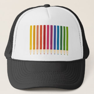 Kids cute pastels design trucker hat