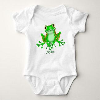 Kid's Cute Tree Frog Baby Bodysuit