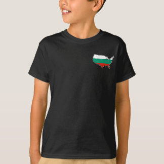 Kids' Dark T-Shirt: Bulgarian in USA T-Shirt