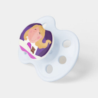 Kids design pacifier with Night girl