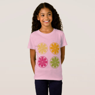 Kids designers t-shirt with Citruses