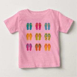 Kids designers tshirt : Beach shoes
