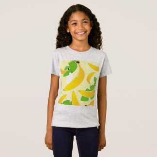 Kids designers tshirt grey with Banana