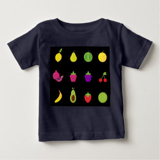 Kids designers tshirt with Fruit