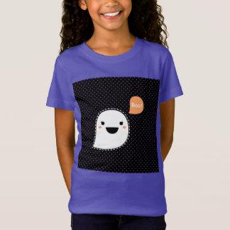 Kids designers tshirt with Ghost purple