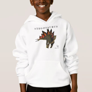 Kids Dinosaur Shirt  Stegosaurus Gregory Paul
