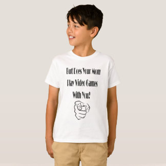 Kid's Does Your Mom Play Video Games T-shirt
