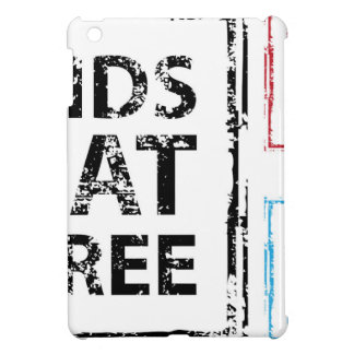 Kids Eat Free grunge stamp Case For The iPad Mini