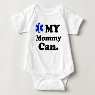 Kids EMT MY Mommy can Baby Bodysuit