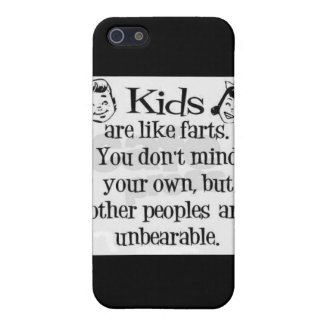 Kids fart humor Speck Case iPhone 5 Cases