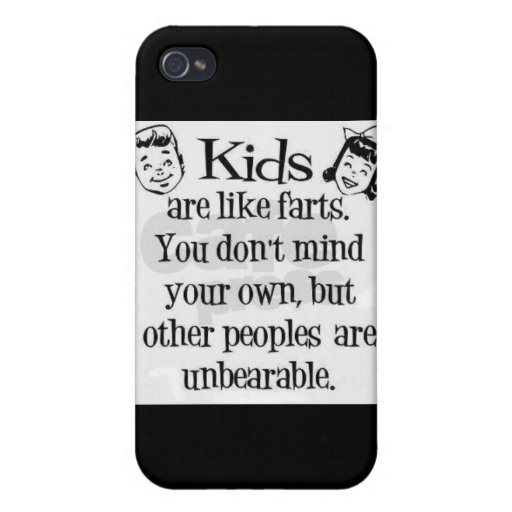 Kids fart humor Speck Case iPhone 4/4S Cases