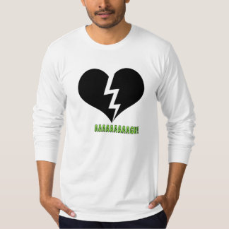 Kids Fight Gnarly   AAAAGH Broken Heart T-Shirt