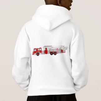 Kids fire truck hoodie....