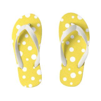 Kids Flip Flops-Polka Dots Kid's Flip Flops