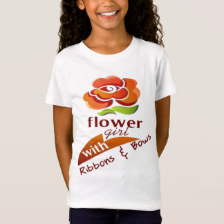 KIDS FLOWER GIRL SHIRT