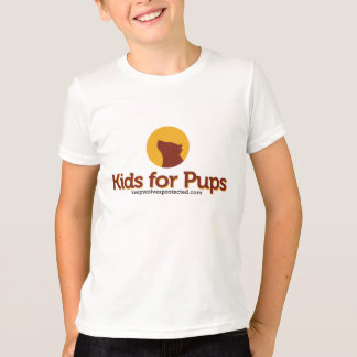 Kids for Pups T-shirt