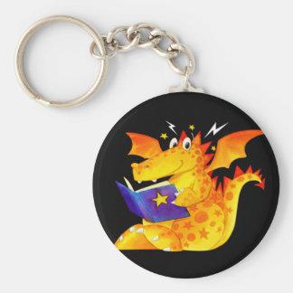 Kid's Funny Halloween Dragon Keychain