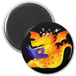 Kid's Funny Halloween Dragon Magnet