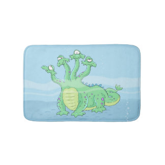 Kids Funny Sea Creature Bathroom Rug