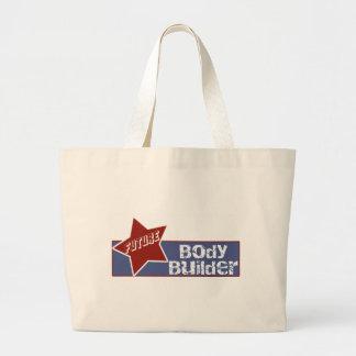Kids Future Body Builder Tote Bag