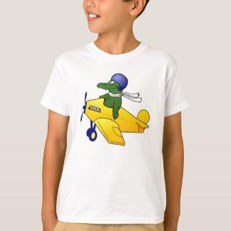 Kids Gator Plane T-shirt